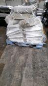 Pallet of gough elevator buckets