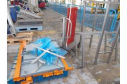 Metal frames and pallet racking spares