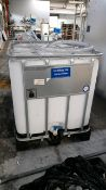 Mixing tank calibration container