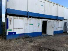 32ft Portable Office Site Cabin Welfare Unit