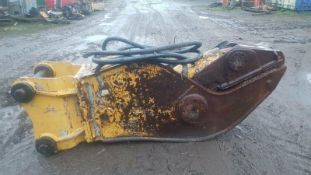 Excavator Pullverisor Concrete Muncher