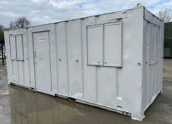 20ft x 8ft anti vandal site cabin office