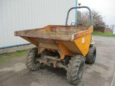 Benford Terex TA 3 ton straight tip dumper