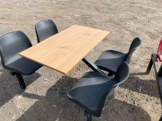 Canteen tables for welfare units x 3