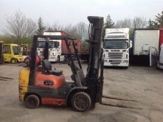Toyota 3 ton gas compact forklift