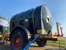 500 gallon towable water bowser trailer for dust s