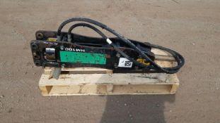 Jcb hm100q hydraulic breaker