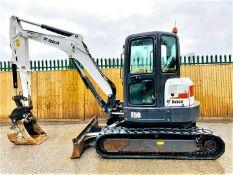Bobcat E50 Excavator / Digger