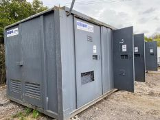 32ft x 10ft static welfare unit with 11KVA generator