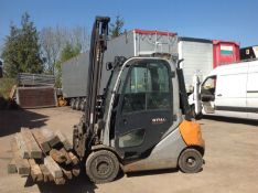 2012 Still RX70-22 2.2 ton diesel/hybrid forklift