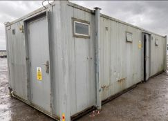 32ft 6 + 1 toilet block container