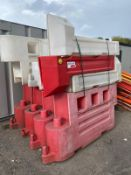 Joblot of crash barriers