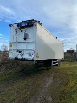Legras Tri Axle Walking Floor Trailer