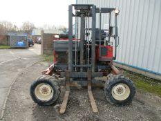 Moffett mounty M7 24.4w truck mounted forklift