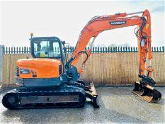 Doosan DX80-R Excavator / Digger