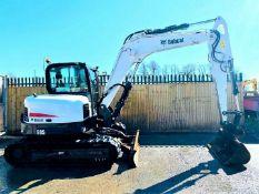 Bobcat E85 Excavator / Digger