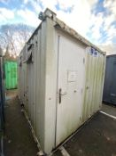 12ft 2 + 1 toilet block