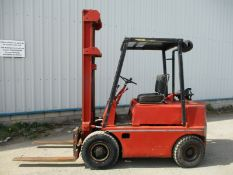 Climax fork lift diesel 2.5 ton forklift truck