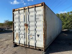 40ft storage container secure store cabin