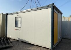 16ft genuine portakabin container site cabin office with 2 doors
