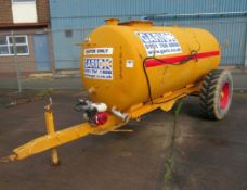 1000 gallon towable dust suppression bowser trailer
