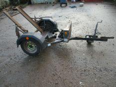 Year 2013Terex Benford MBR71 roller trailer LED li
