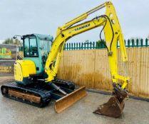 Yanmar VIO50-U Digger Excavator 2011
