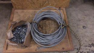 Steel bonding/lashing rope & grips