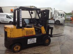 Hyster 4 ton diesel forklift