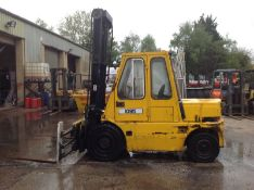 Coventry Climax 4 ton diesel forklift