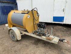 Towable Pressure Washer. Yanmar diesel engine