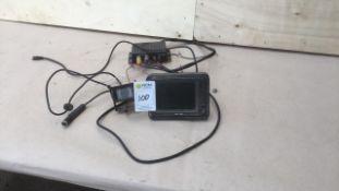 Brigade reversing camera & monitor