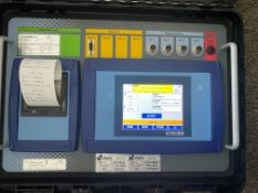 Dini Argeo 3590ETKR Axie pad system vehicle, weigh