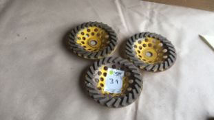 SPE diamond cup grinding wheel