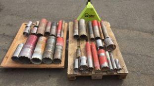 Diamond Core Drill bits qty 31
