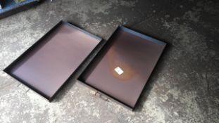 Steel workshop 2ft x 3ft drip trays