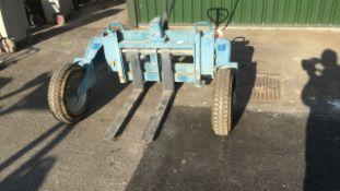 Conquip rough terrain pallet truck