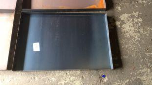 Steel 2ft x 3ft workshop drip tray qty 4