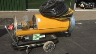Master BV290DV heater spares or repair