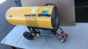 Master BLP 103 DV propane heater
