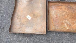 Steel workshop drip tray qty 2