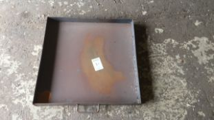 Steel drip Tray 2ft x 2ft