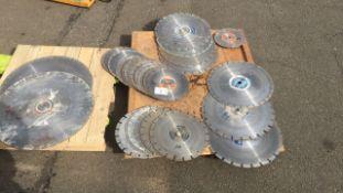Diamond cutting disc qty 31