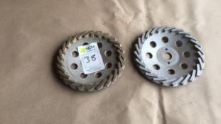 Saber Impact diamond cup grinding wheel