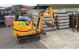 JCB 8008 micro excavator