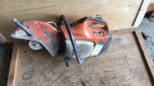 Stihl TS410 disc cutter
