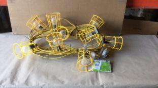 Festoon 110v lights