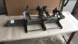 Pipe clamp for fusion welder