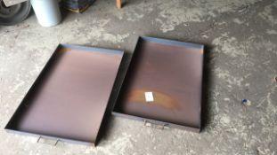 Steel 2ft x 3ft garage drip tray