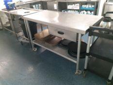 Preparation trolley